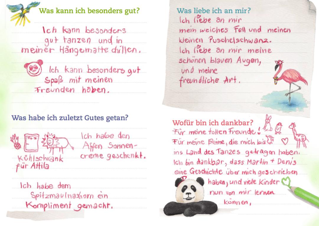 Paula Panda - Dankbarkeits-Tagebuch - 2