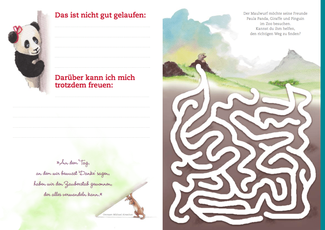 Paula Panda - Dankbarkeits-Tagebuch - 5