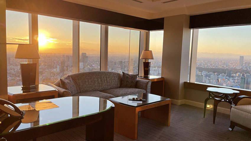 エグゼクティブスイートコーナールーム宿泊記。リッツ・カールトン東京|富士山ビューが最高なスイートルーム