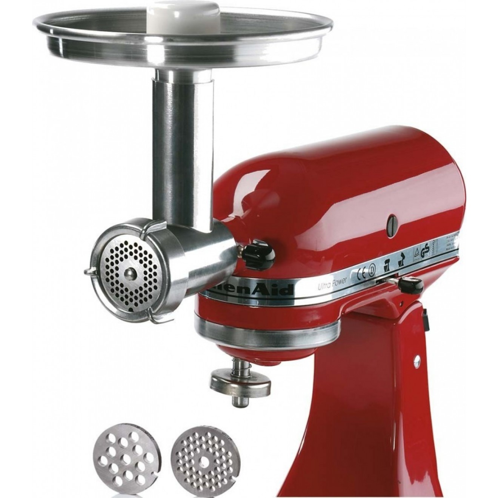 kitchen aid mixer parts drop leaf cart jupiter metal food grinder attachment