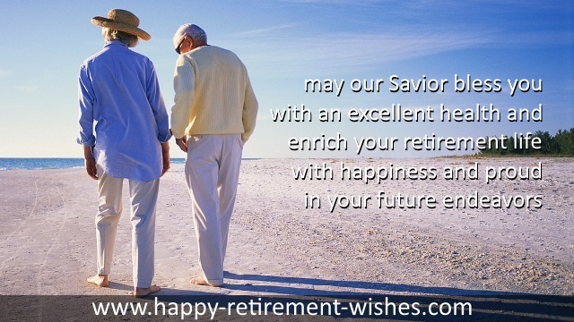 religious retirement wishes and
