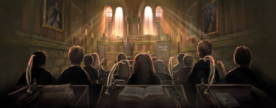pottermore harry hogwarts class