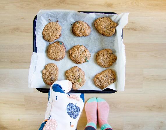 happy acorn koekjes coffeecookieswap recept diy
