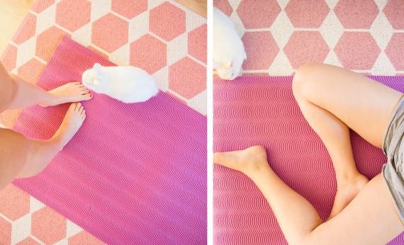 happy acorn yoga met frits
