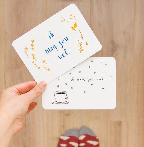 ninamaakt kaarten ik mag jou wel koffie