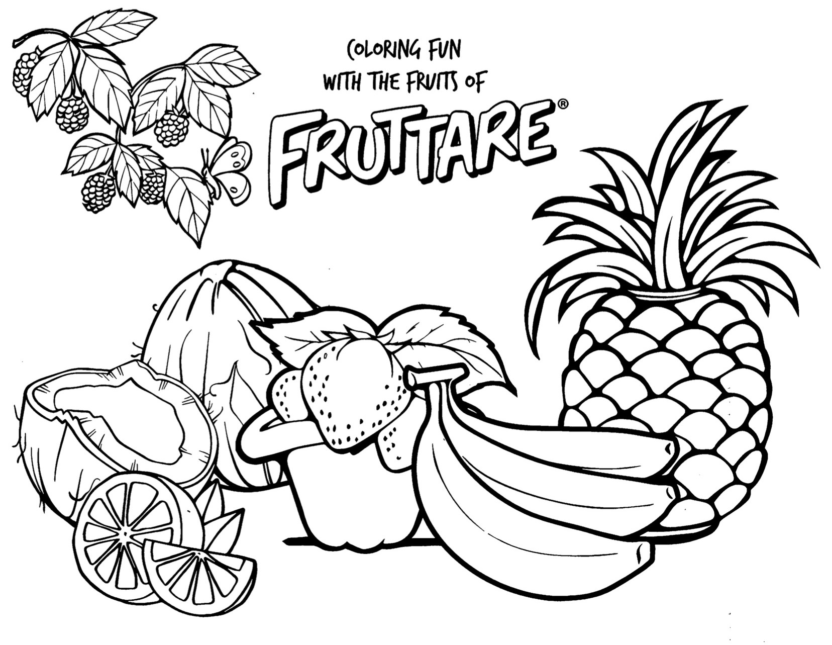 Count The Fruit Activity Placemat Printables T Activities