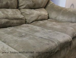 Clean microfiber couch 1