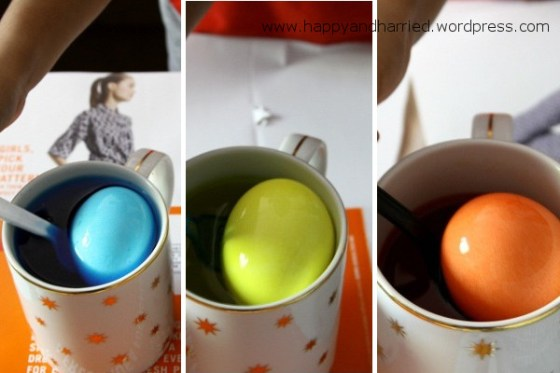 Dyed Easter Eggs 2