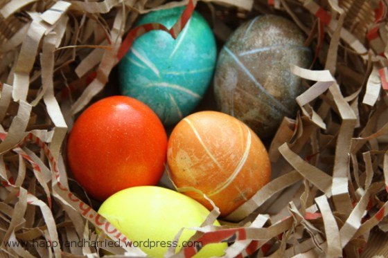 Dyed Easter Eggs 8