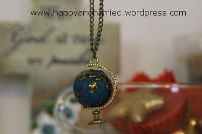 Globe Pendant Necklace