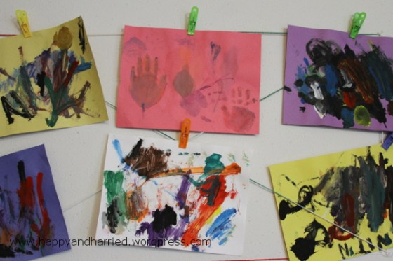 Kids Artwork Display Wall 4