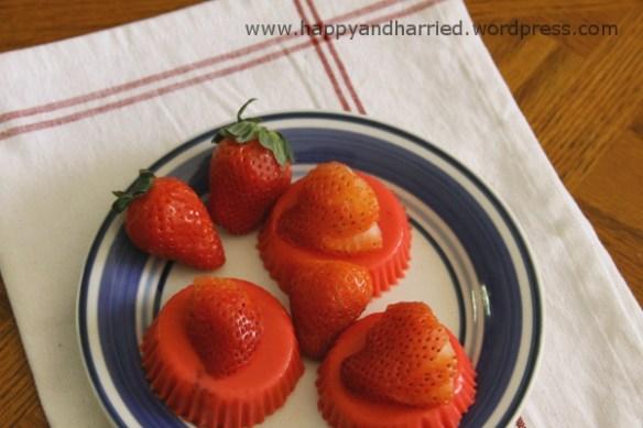 strawberry yogury jelly bites 5