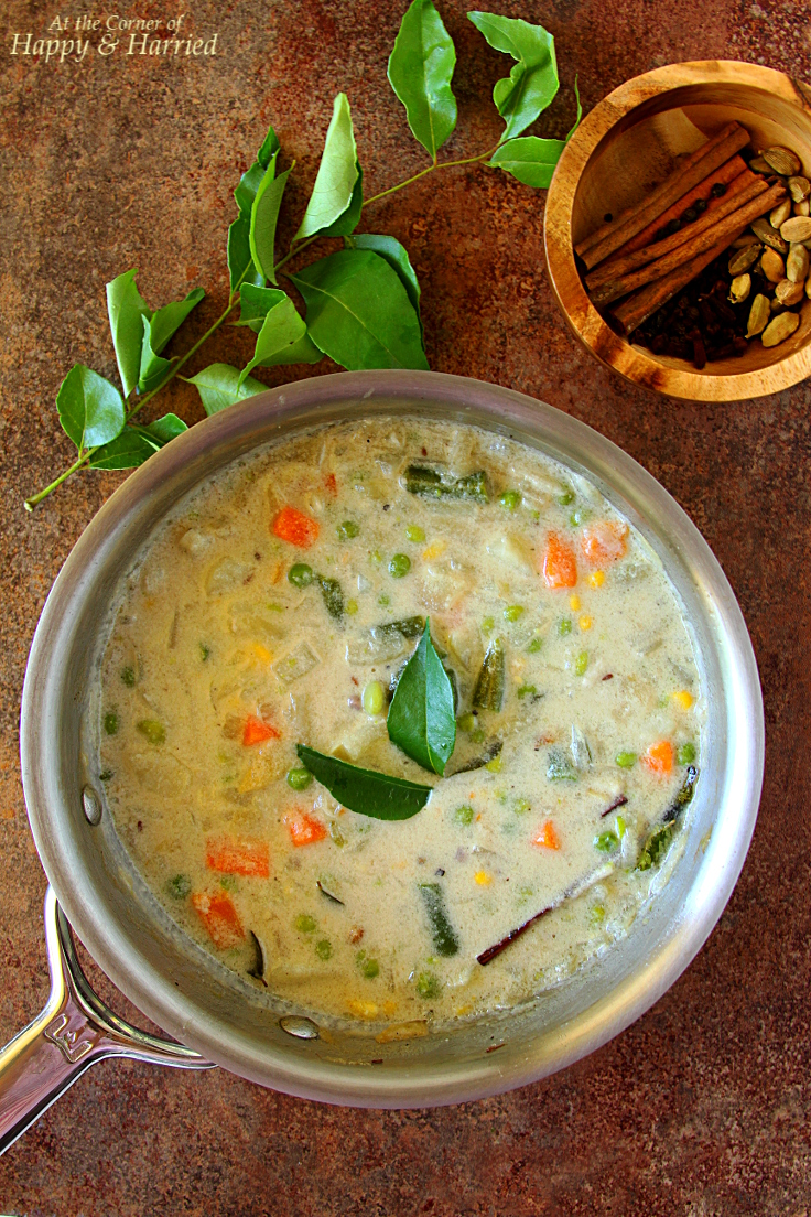 Vegetable Stew With Coconut Milk