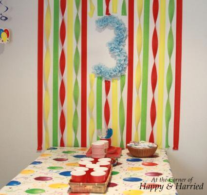 Boy Birthday Party Decorations