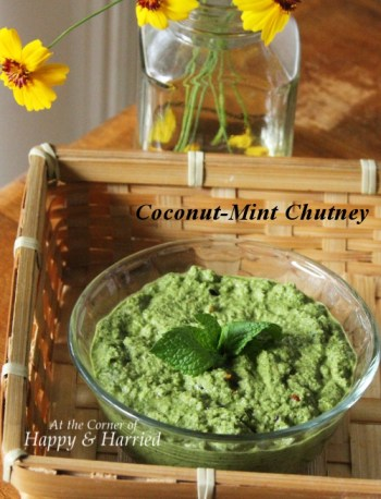 Coconut Mint Chutney 1