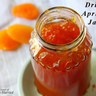 How I Made *Dried Apricot Refrigerator Jam*