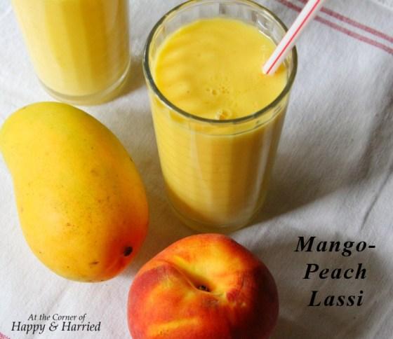 Mango Peach Lassi
