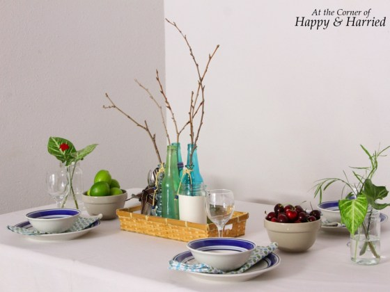 Simple and Pretty Table Setting