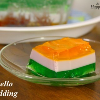 Easy Dessert – Layered Jello (Jelly) Pudding For A Little Celebration