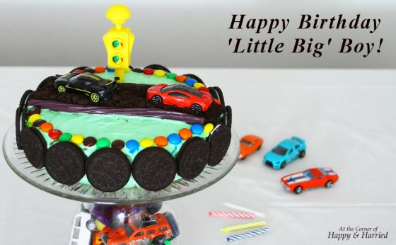 Pleasing Race Car Themed Birthday Cake Cake Stand Funny Birthday Cards Online Elaedamsfinfo