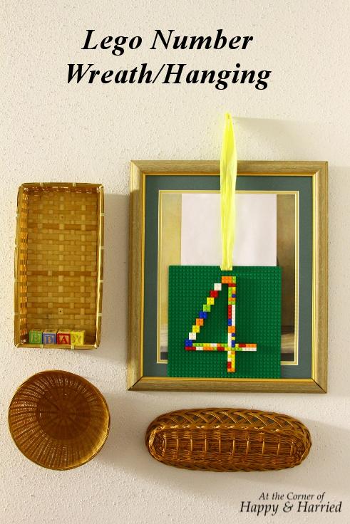 Lego Number Wreath_Hanging