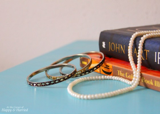Photography Styling Challenge 5-Bedroom Jewels & Books