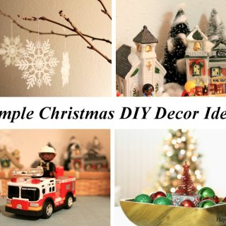 Simple DIY Christmas Decor Ideas