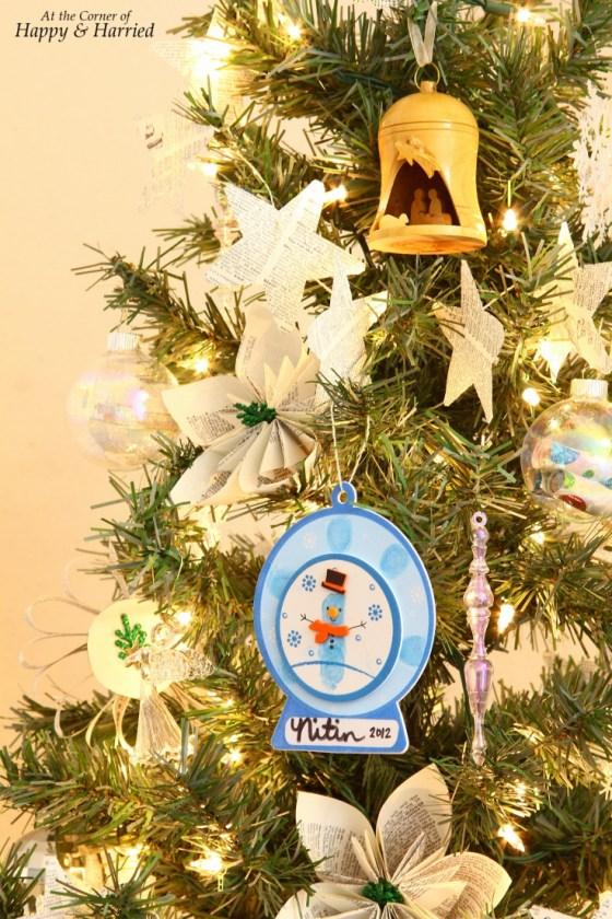 Boy's School Ornament