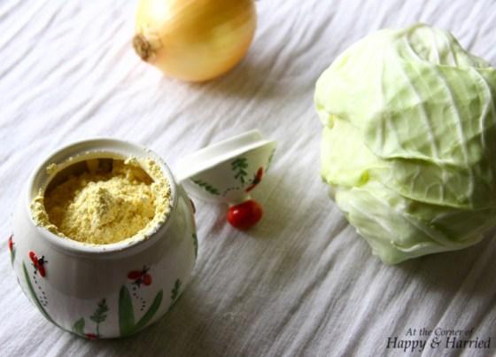 Cabbage Pakoda Ingredients