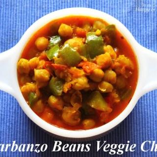 Garbanzo Beans / Chickpeas / Kabuli Channa Vegetarian Chili