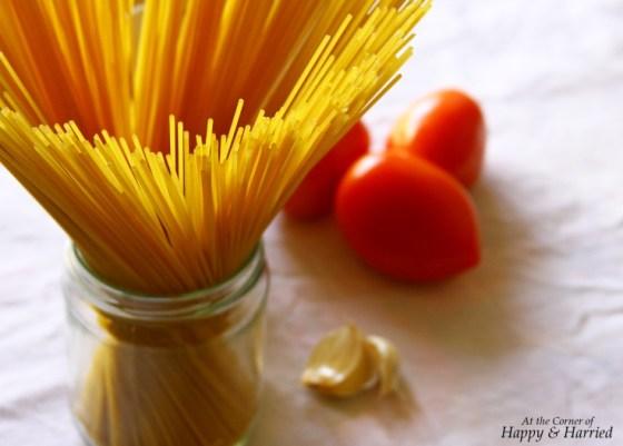 Thin Spaghetti & Creamy Tomato Sauce