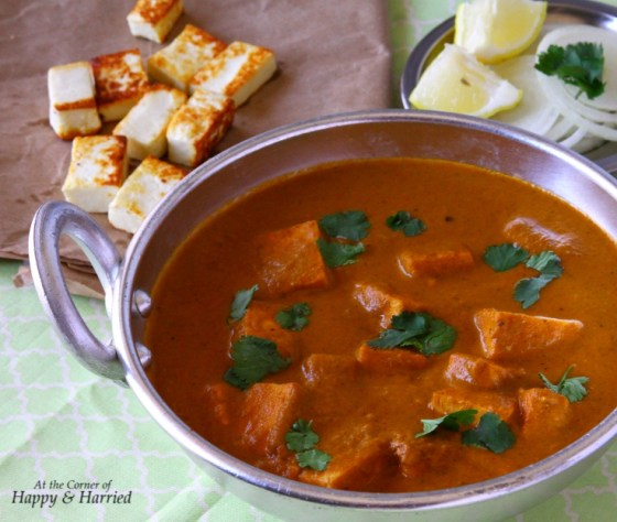 Delicious Paneer Butter Masala or Paneer Makhani