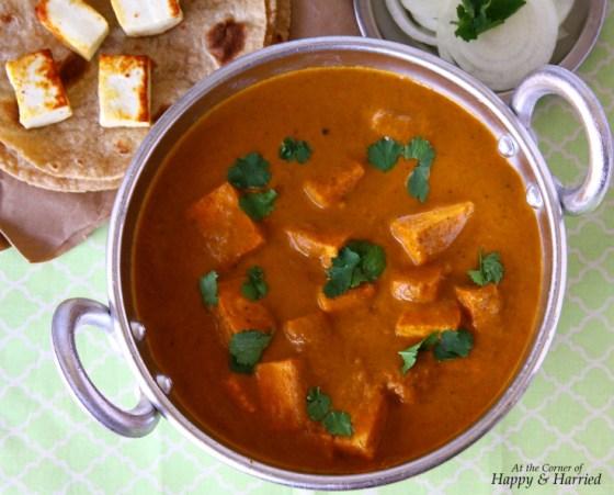 Easy Paneer Butter Masala or Paneer Makhani