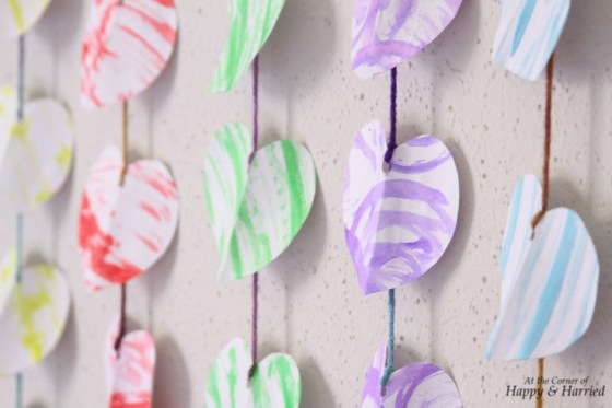Photography Styling Challenge #8 - Patterns - Hearts Garland