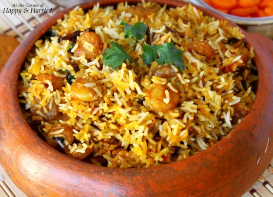 Shrimp Or Prawns Dum Biryani