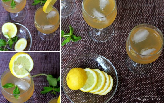 Lemon, Mint And Ginger Cooler
