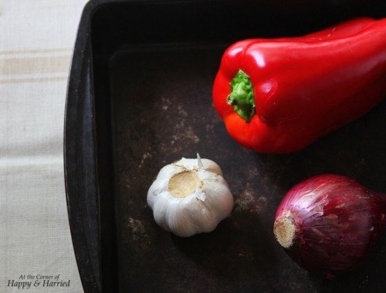 Onion, Garlic & Red Pepper