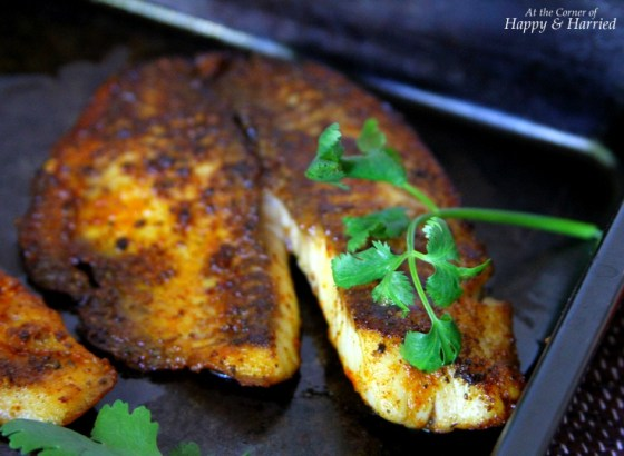 Pan Seared Herb Crusted Tilapia Fillets