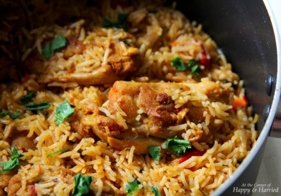 Rice With Chicken In Pot