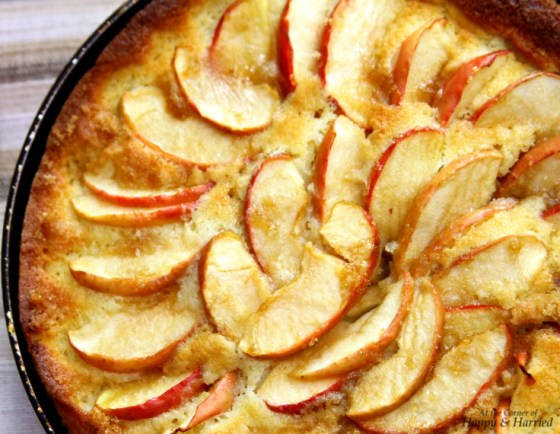 Skillet Cake With Caramelized Apple Layer