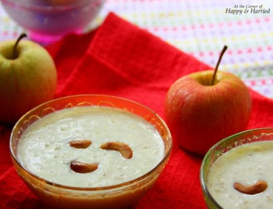 Apple & Paneer Kheer or Payasam