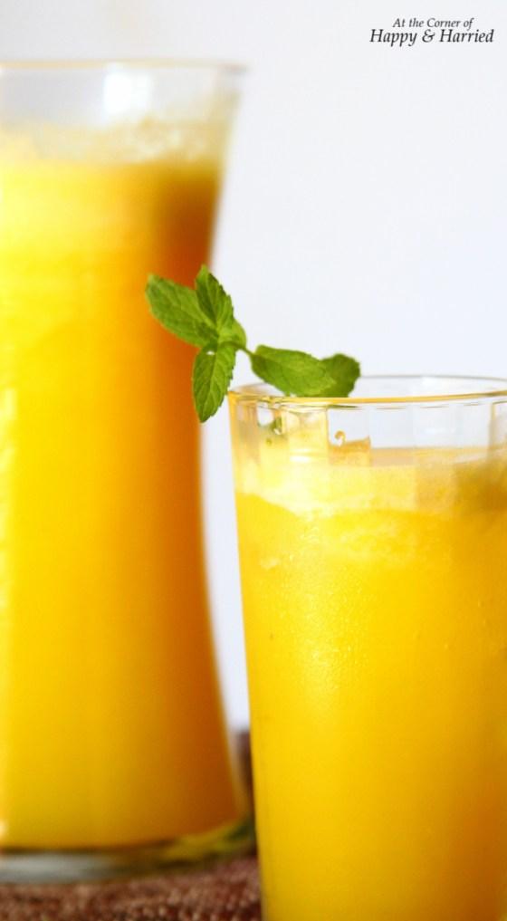 Fresh Pineapple & Ginger Agua Fresca