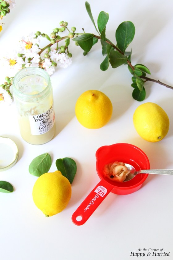 Honey & Lemons for Cake