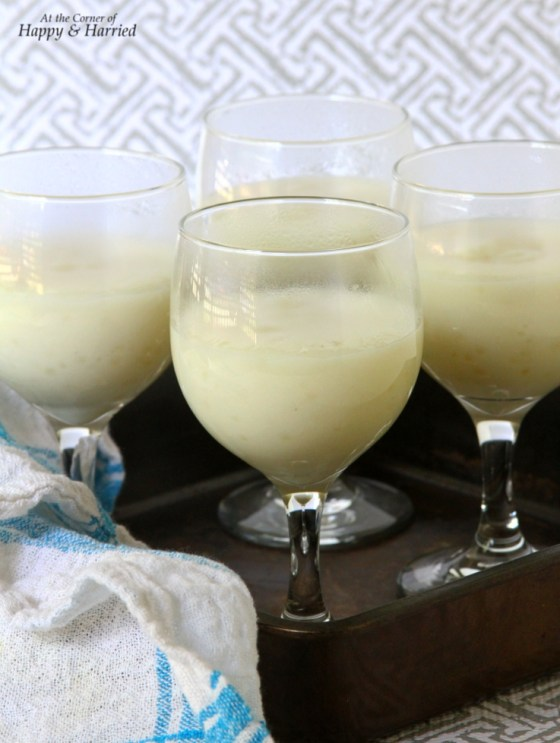Sago or Tapioca Pearl Milk Pudding