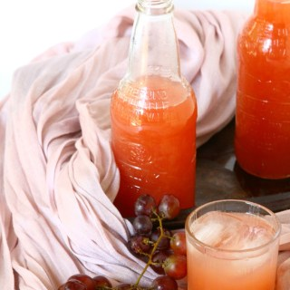 Angoor Ka Sharbat {Red Grape Juice Concentrate}