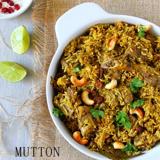 Mutton Biryani {Tamil Nadu Style}