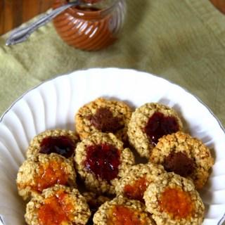 Oatmeal Thumbprint Cookies