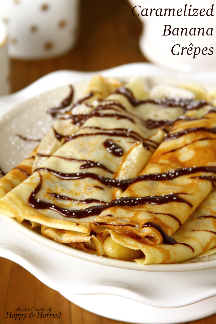Caramelized Banana Crepes