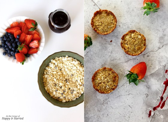 Dress Up Granola Snack Bars With Yogurt And Berries for a Healthy Snack