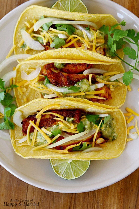 Loaded Spicy Chicken Tacos